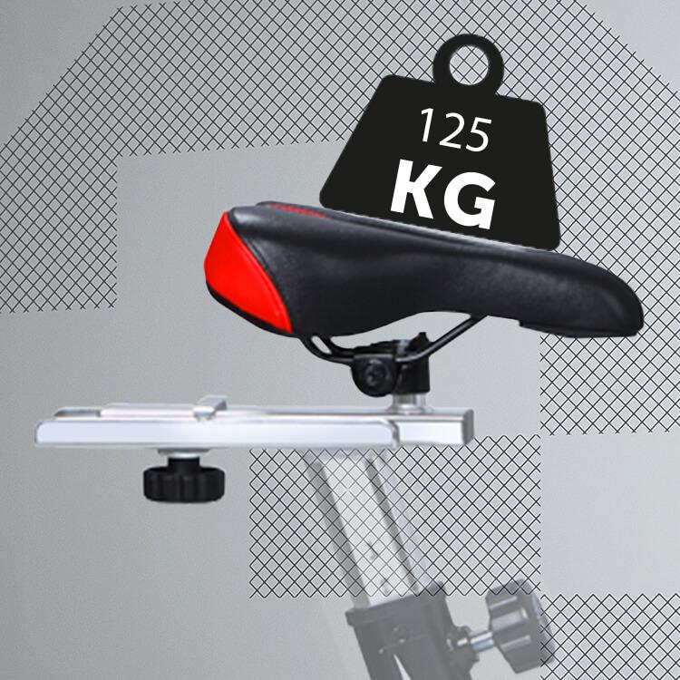 charge maxi vélo d'appartement Sportstech SX 200